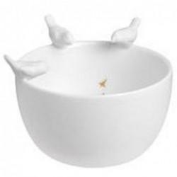 Coupelle porcelaine - Histoires d'oiseaux -  Rader