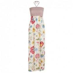 Robe longue Dalia Floral Fantasy - Pip Studio - Ecru - M