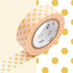 Masking tape - MT - pois abricot