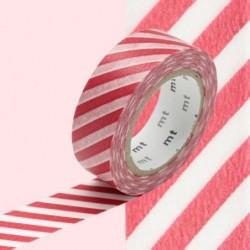 Masking tape - MT - rayure rouge