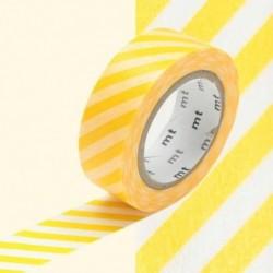 Masking tape - MT - rayure jaune