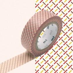 Masking tape - MT - tirets rouges