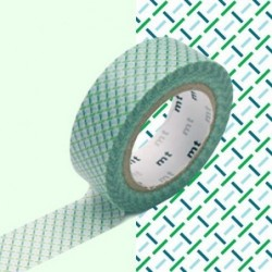 Masking tape - MT - tirets verts