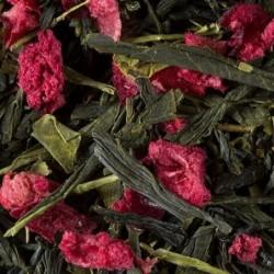 Thé vert parfumé - Damman Frères - Fraise-Pistache - 100g