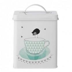 Boîte à thé - Bloomingville - Soft mint - 14cm