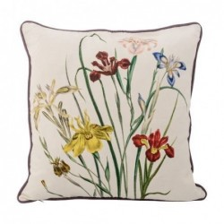 Coussin - Bloomingville - Flowers dots 45x45