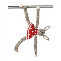 Lapine magnet - Anne-Claire Petit - rouge