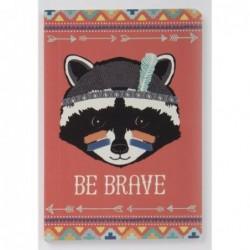 Carnet Guerrier Blaireau Brave - Animal Adventure - RJB Stone