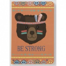 Carnet Shaman Ours be Strong - Animal Adventure - RJB Stone