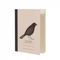 Carnet de poche A6 - Blackbird - Rex