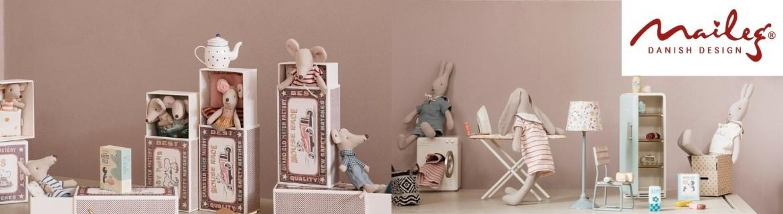 Acheter des souris Maileg, des meubles, et des lapins au meilleur prix