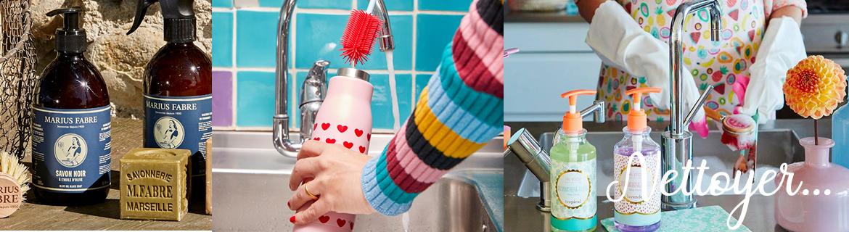Trouver des articles originaux et fantaisie pour nettoyer la maison