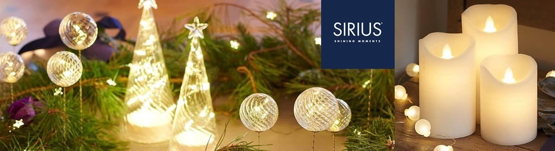 Acheter des décorations de Noël lumineuses Sirius au meilleur prix