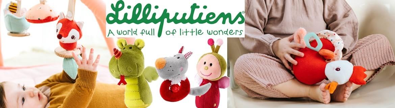 Acheter des jouets d'éveil et des peluches pour bébés Lilliputiens