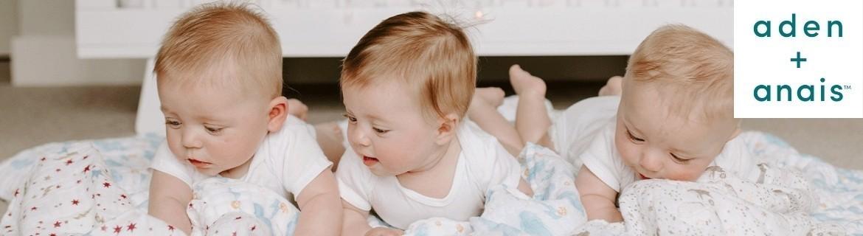 Acheter du linge de lit et des couvertures pour bébé Aden et Anaïs