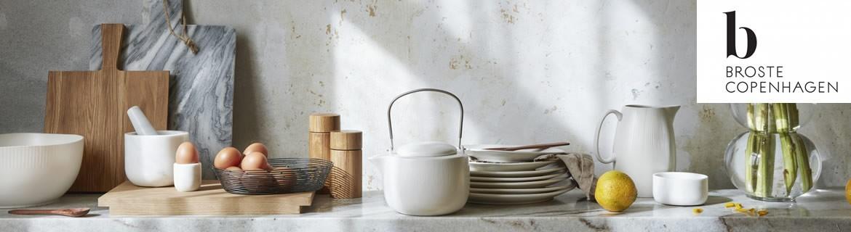 Vaisselle, assiettes et bougies de style nordique Broste Copenhagen