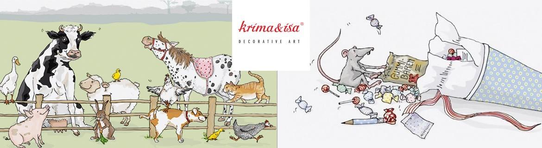 Acheter des accessoires de papeterie Krima & Isa au Panier d'Eglantine