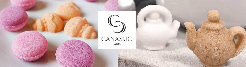 Je cherche des petits sucres fantaisies Canasuc en forme de cœur, fleurs ou roses