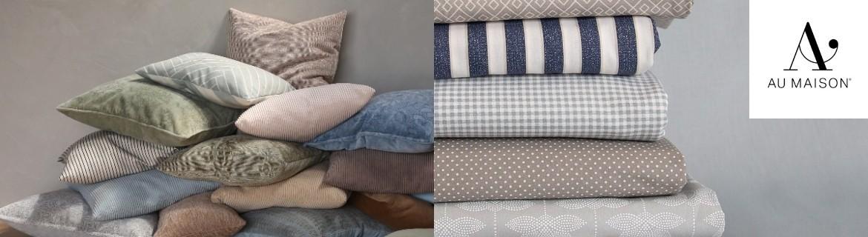 Acheter des coussins, couvertures, plaids et toiles cirées AU Maison