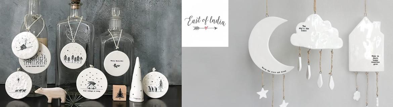 Acheter des objets de déco et de papeterie East of India pas chers