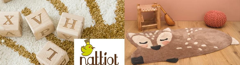 Acheter des tapis et paniers à linge pour enfants Nattiot pas chers