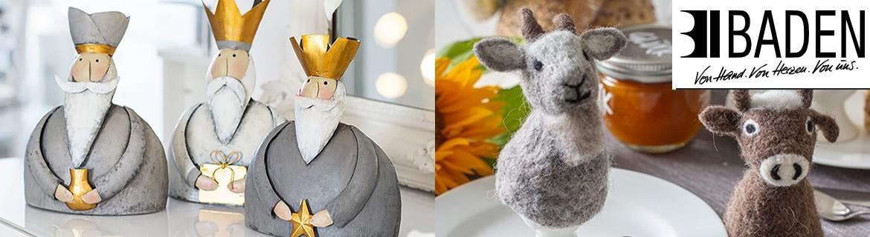Acheter des décorations de Pâques et de Noël Baden au meilleur prix