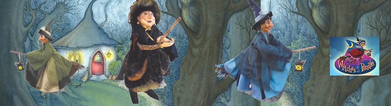 Acheter des poupées sorcières Witches of Pendle pour Halloween