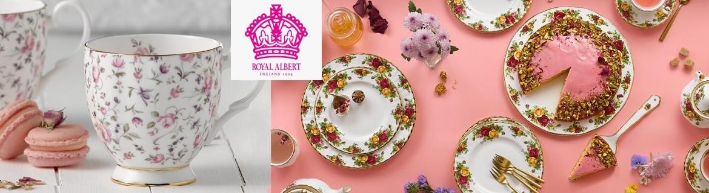 Acheter la vaisselle Royal Albert au meilleur prix chez Eglantine