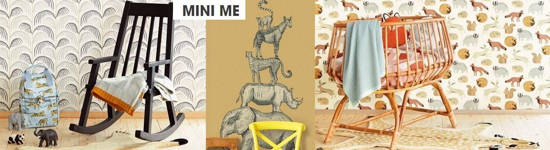 Acheter du papier peint Mini Me pour décorer la chambre d'enfant