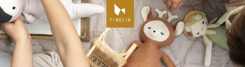Acheter des doudous et des décos pour bébés Fabelab au meilleur prix