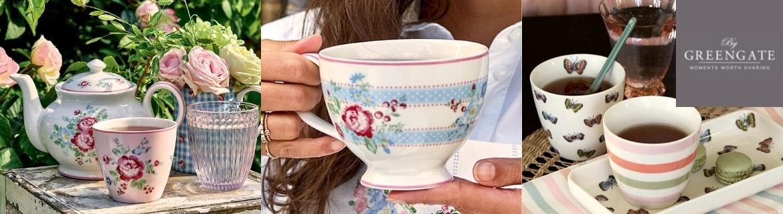 Tasses Greengate, Mugs et Latte Cups au meilleur prix chez Eglantine