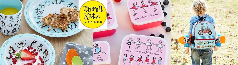 Vente de vaisselle en mélamine pour enfants Tyrrell Katz pas chère