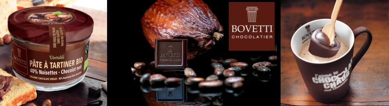 Commander de délicieux chocolats français Bovetti au meilleur prix