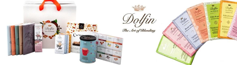 Je cherche sur internet des chocolats belges Dolfin mini tablettes pas chers