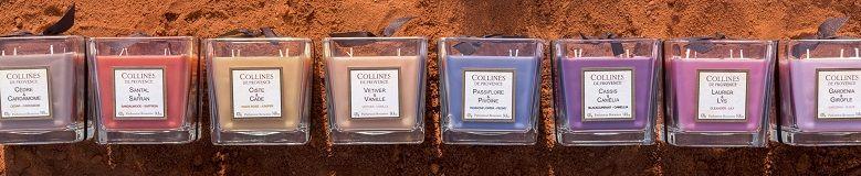 Acheter des bougies parfumées Collines de Provence au meilleur prix
