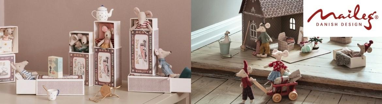 Acheter des souris Maileg dans leurs boîtes d'allumettes à petit prix