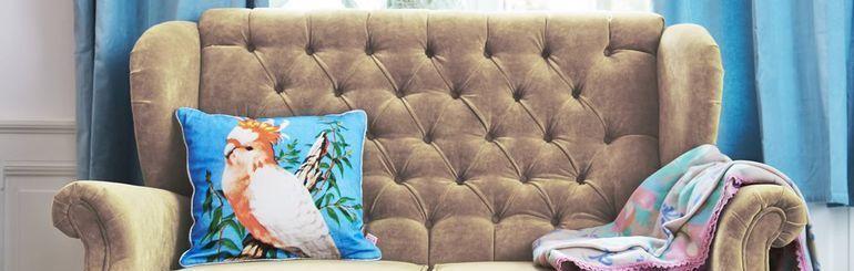 Meubles canapés et fauteuils Rice de couleurs vives au meilleur prix