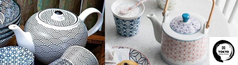 Acheter des théières et des cuillères Tokyo Design au meilleur prix