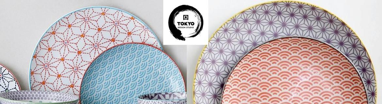 Acheter des assiettes Tokyo Design de fabrication japonaise pas chères