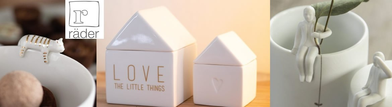 Acheter des boites en porcelaine, trousses et sacs Rader à petit prix