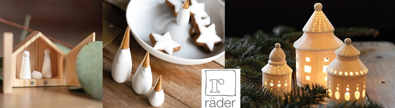 Décorations de Noël, lumières, boules et cartes Rader au meilleur prix