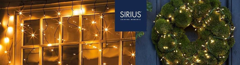 Acheter des guirlandes lumineuses Sirius pour décorer votre Noël