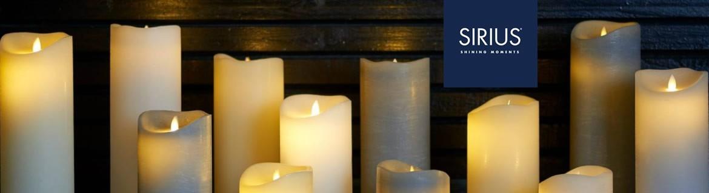 Acheter des bougies à LED Sirius et des décorations de Noël lumineuses