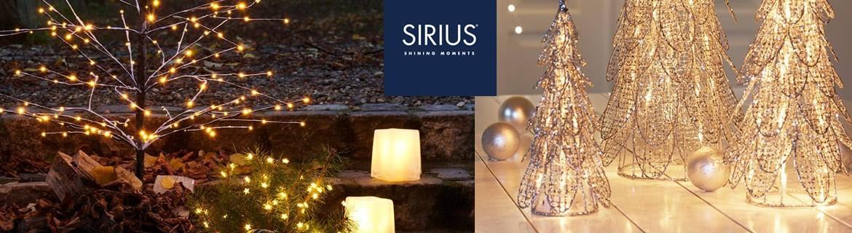 Acheter des sapins de Noël lumineux à LED Sirius au meilleur prix