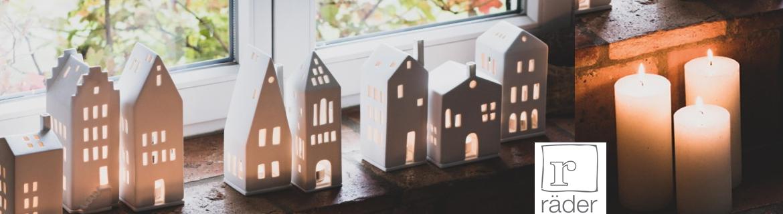 Trouver des maisons lumineuses Rader blanches en porcelaine pas chères